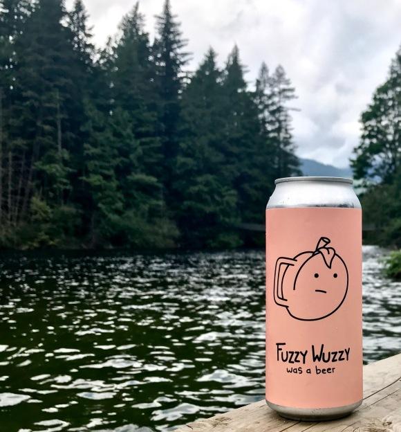 Fuzzy Wuzzy Peach IPA - Craft Beer Tourist